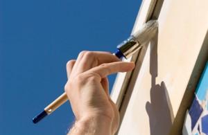 Fasadmålning kostnad måla om hus