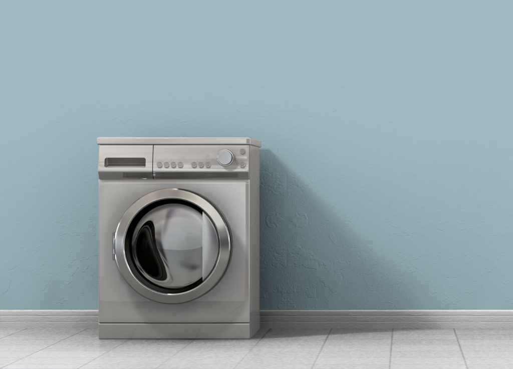 En tvättmaskin